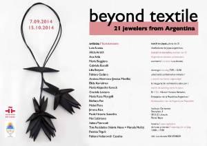Beyond Textile.. Instituto Cervantes, Utrech, Holanda